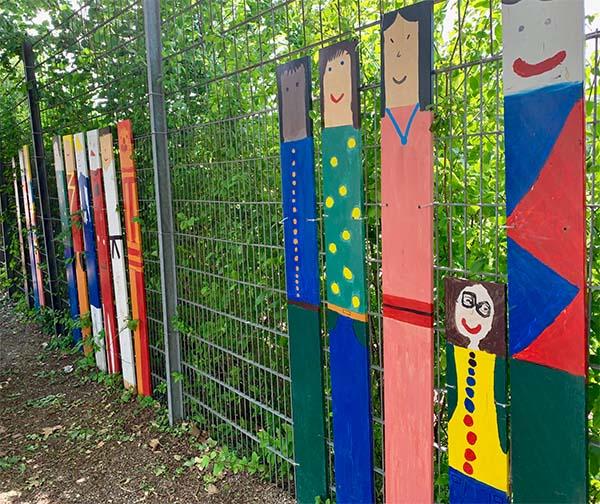Vielfalt Kunstprojekt Liederbachschule
